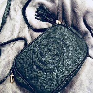 Handbags - Black GG cross body soho *perf for spring & easter